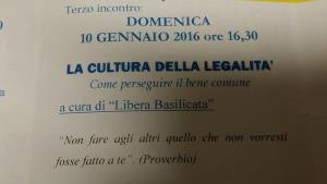 La cultura della legalità - Matera