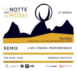 La Notte europea dei Musei 2016 - 21 Maggio 2016 - Matera