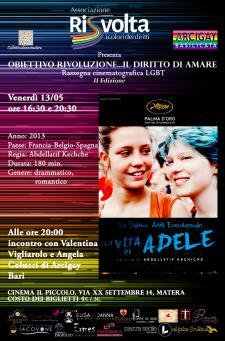 La vita di Adele - 13 Maggio 2016 - Matera