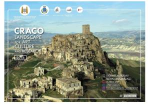 Landscape for art, culture and research Craco 2016 - Matera