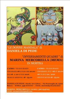 Le donne mandala e Diversamente Quadri - Matera