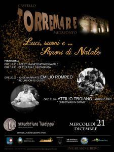 Luci, suoni e sapori di Natale - 21 dicembre 2016 - Matera