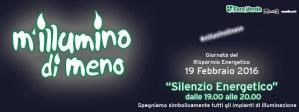M'illumino di meno 2016 - 19 Febbraio 2016 - Matera