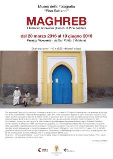 Maghreb – Il Marocco attraverso gli occhi di Pino Settanni - Matera