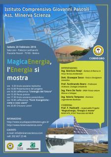 MagicaEnergia, l'Energia si mostra - 20 Febbraio 2016 - Matera
