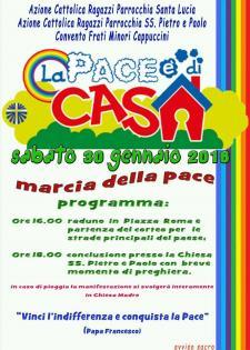 Marcia della pace  - 30 Gennaio 2016 - Matera