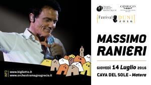 Massimo Ranieri in concerto - Matera