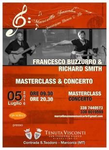 Masterclass & Concerto con Francesco Buzzurro e Richard Smith - 5 Luglio 2016 - Matera