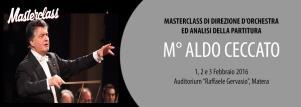 Masterclass del M° Aldo Ceccato  - Matera