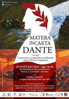 Matera inCarta Dante - 29 Gennaio 2016 - Matera