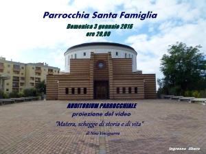 Matera, schegge di storia e di vita - 3 Gennaio 2015 - Matera