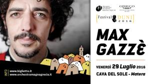 Max Gazzè  - Matera
