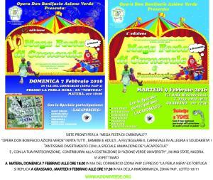 Mega Festa di Carnevale 2016 - Matera