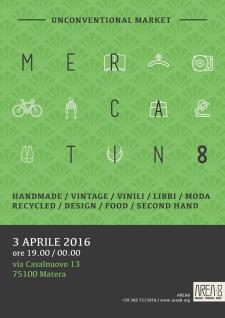 Mercatin8  - 3 Aprile 2016 - Matera
