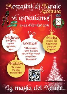 Mercatini di Natale ad Accettura - Matera