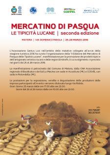 Mercatino di Pasqua delle Tipicità Lucane - Matera