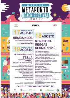 Metaponto Beach Festival 2016 - Matera