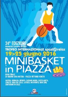 Minibasket in Piazza 2016  - Matera