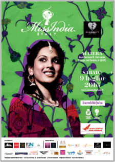 Miss India Italy sesta edizione - 9 Luglio 2016 - Matera