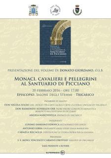 Monaci, cavalieri e pellegrini al santuario di Picciano - 20 Febbraio 2016 - Matera