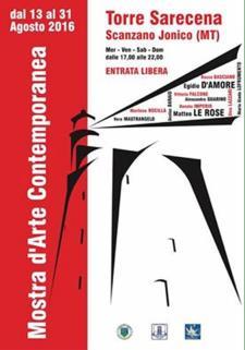 MOSTRA D'ARTE CONTEMPORANEA - dal 13 al 31 agosto 2016 - Matera