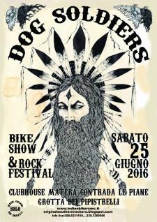 "Motoraduno bikers denominato ""Dog Soldiers"" - 25 Giugno 2016 - Matera"