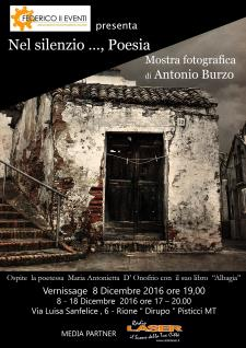 Nel silenzio... Poesia - 8 - 18 dicembre 2016 - Matera