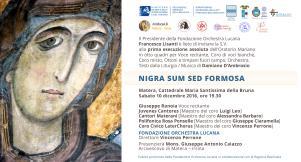 Nigra sum sed formosa - 10 dicembre 2016 - Matera