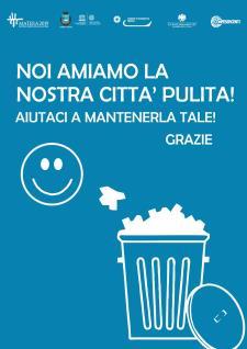 Noi amiamo la nostra città pulita - Matera