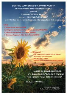 Note di Salute - 28 Maggio 2016 - Matera