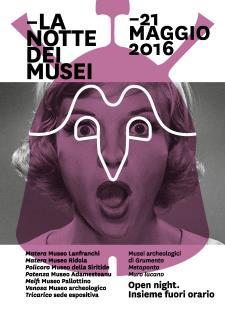 Notte Europea dei Musei 2016 - Matera