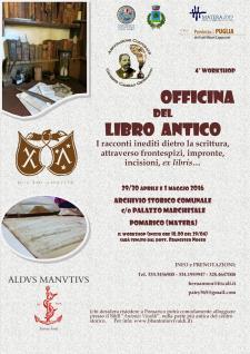 Officina del libro antico  - Matera