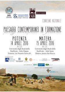 Paesaggi contemporanei in formazione  - 15 Aprile 2016 - Matera