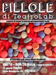 Pillole di TeatroLab - Matera