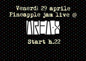 Pineapple Jam  - 29 Aprile 2016 - Matera