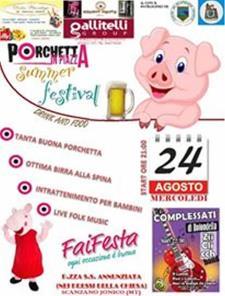 Porchetta in piazza Summer Festival 2016 - Matera