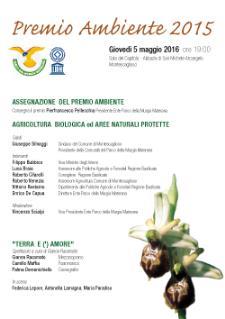 Premio Ambiente 2015 - 5 Maggio 2016 - Matera