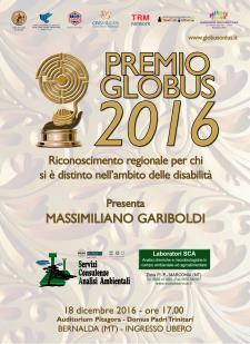 Premio Globus 2016 - Matera