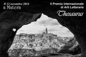 """PREMIO INTERNAZIONALE DI ARTI LETTERARIE """"THESAURUS"""" - Matera"""