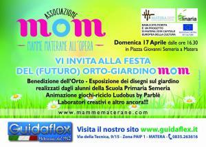 Prima festa orto-giardino Mom - 17 Aprile 2016 - Matera