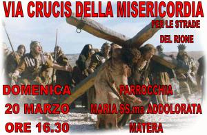 Processione della Via Crucis della Misericordia - 20 Marzo 2016 - Matera