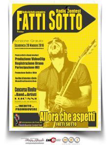 """Radio Contest """"FATTI SOTTO 2016 - Matera"""