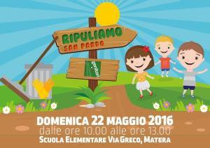 Ripuliamo-H24 - 22 Maggio 2016 - Matera