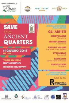 Save the ancient quarters - 11 Giugno 2016 - Matera