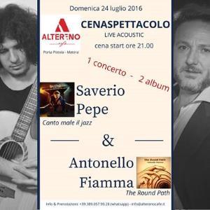 Saverio Pepe E Antonello Fiamma In Concerto - Matera