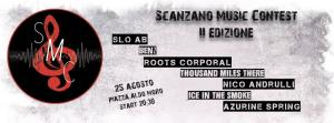 Scanzano MUSIC Contest 2016 - 25 agosto 2016 - Matera