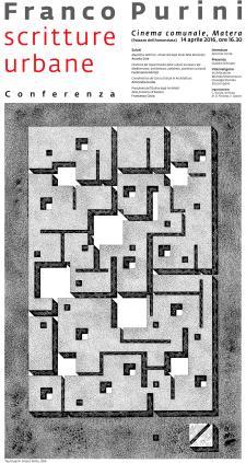 Scritture urbane - Tauns 2016 - Matera