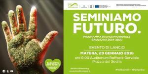 """Seminiamo futuro"" - 29 Gennaio 2016 - Matera"