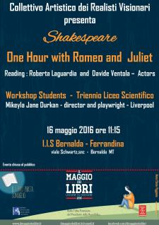 Shakespeare � One hour with Romeo and Jiuliet - Matera