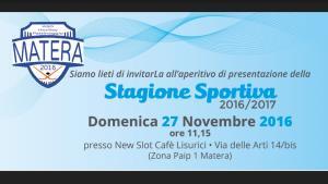 Stagione sportiva Hockey Pattinaggio Matera 2016/2017 - Matera